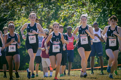 2014-15 Women's Cross Country Action Photos